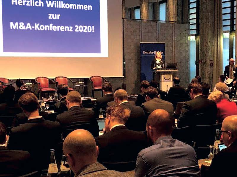 Eröffnung der Konferenz durch Dr. Franz-Josef Schöne, Jens Uhlendorf und Dr. Martina Koster (v. r. n. l.)