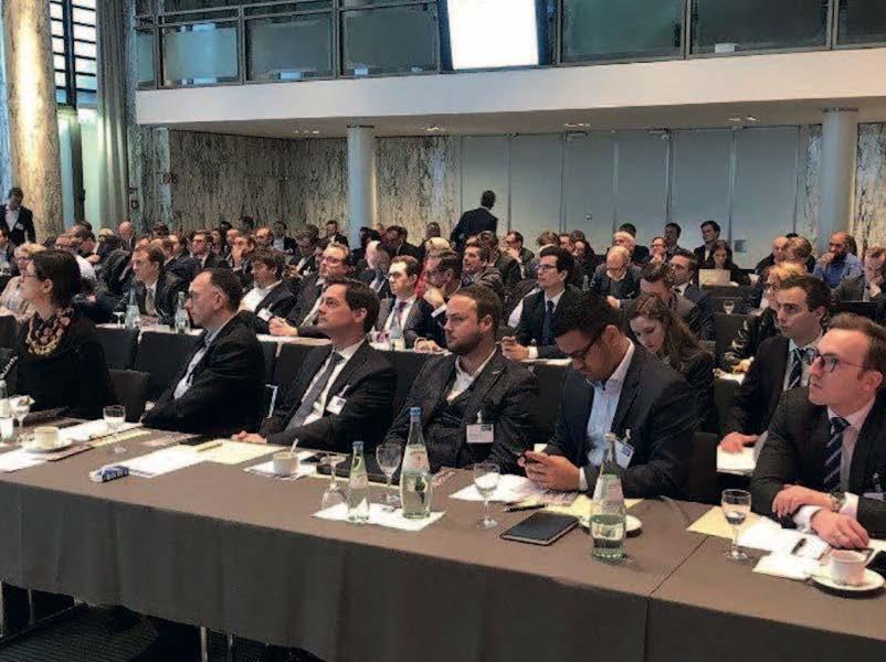 Teilnehmer am 28.1.2020 im Industrie-Club